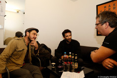 David Baruchel (l), Manuel Nectoux (m) & Mario (r)